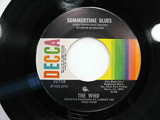 The Who Sumertime Blues - Heaven and Hell - 45rpm  (Inv1022)