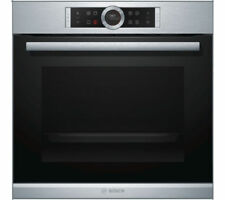 Bosch Serie 8 Stainless Steel Electric Oven HBG674BS1B