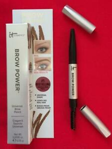 IT COSMETICS Brow Power Universal Taupe Brow Pencil .0018oz Travel Size in Box!