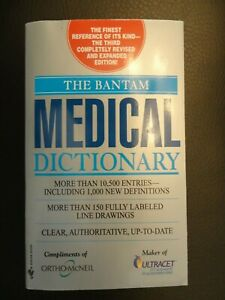 The Bantam Medical Dictionary Third Revised Edition Paperback