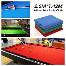 US 250x142cm Billiard Cloth Felt Mat Cover Table Worsted For 7/8FT Billiard Pool