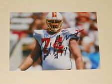 Tampa Bay Bucaneers PAUL GRUBER Signed 4x6 Photo NFL BUCS AUTOGRAPH