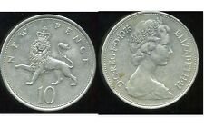ROYAUME UNI  10  new  pence 1975  (bis)