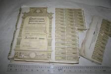 181 ACCIONES GRANDES, CONSTRUCTORA INTERNACIONAL S.A.,1 - OCTUBRE 1973 VER FOTO
