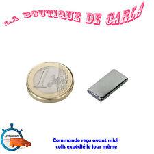 Lot 5pcs Aimant Neodyme Rectangulaire Plat Puissant Neodymium Magnet 20x10x2mm