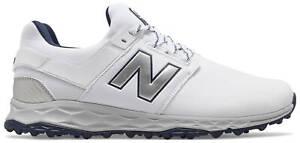 New Balance NB Fresh Foam Links SL Golf Shoes 4000WN White/Navy Men's New
