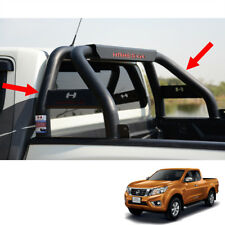 Short Roll Bar Steel Hamer Matte Black HR-1601 For Nissan NP300 D23 UTE 16 17