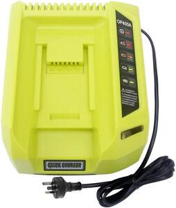Battery Charger for Ryobi 36V 40V Li-ion OP4015 OP4026 OP401 AU Plug OP4050A