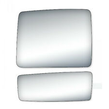 Pair Set Mirror Glass Replace for Ford F-150 Towing Pickup Truck Driver Side