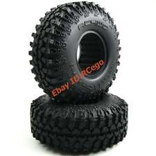 2pc RC 1/10 RC 4WD Rok Lox 1.9 Comp Tires Fit RC Axial Tamiy 1.9 Beadlock Rims