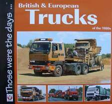BOEK/LIVRE : British and European Trucks of the 1980s (vrachtwagen oldtimer 80s