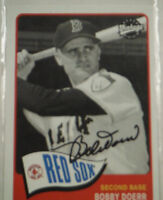 Bobby Doerr  Autographed 2003 Upper Deck Vintage #163 with COA Red Sox TJ1
