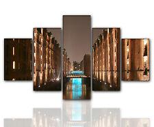 Designbilder 160x80cm 5 teilig auf Leinwand und Keilrahmen Wohnzimmer modern XXL