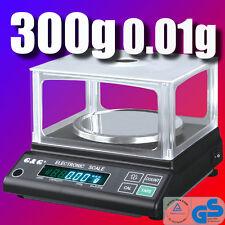 JJ 300g/0,01g Präzisionswaage Laborwaage Digital-waage JJ
