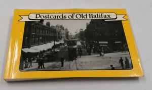30 Vintage Black & White POSTCARDS OF OLD HALIFAX in book form  A4