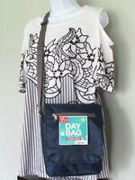 Triplogic By Travelon Navy Lightweight Slim Travel Luggage CrossBody Day Bag