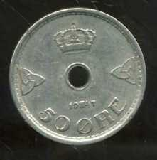 NORVEGE  50 ore 1947
