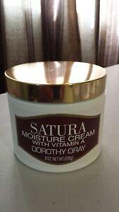SATURA DOROTHY GRAY MOISTURE CREAM WITH VITAMIN A  8 OZ