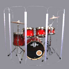 Drum Shield DS5 L 6 Section Drum Shield Acrylic Drum Panels