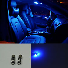 2X Error Free 5 SMD LED SMD bLUE LIGHTs interior MAP For Audi A4 B5 B6 B7 94-08