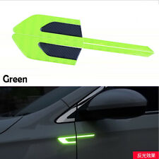 Green Car Universal Fender Reflective Sticker Security Warning Graphic Decal
