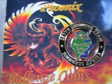 AFRICOM 257th EN BN Your Hole is our goal coin by Phoenix Challenge Coins