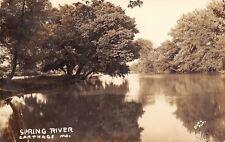 Carthage MO~Spring River~Joe & Marta Headed to Army Job in Hope AR~1941 RPPC