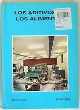 LOS ADITIVOS EN LOS ALIMENTOS - A. MADRID VICENTE 1992 - 251 PÁGINAS -VER INDICE