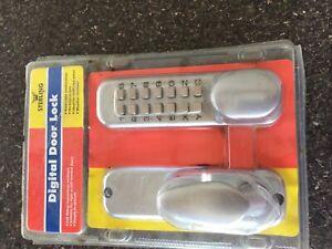 Sterling Digital Door Lock.Free UK Postage