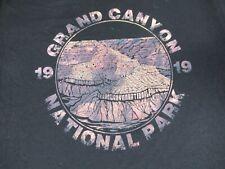 GRAND CANYON NATIONAL PARK MOUNTAIN VIEW - BLACK MEDIUM T-SHIRT C1818