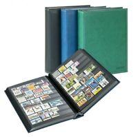 Das Briefmarkeneinsteckbuch Diamant, mit 60 schwarzen Seiten, von Lindner, NEU