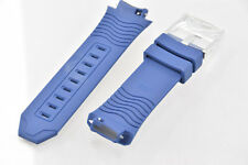 Men's Techno Marine Navy Blue Silicone 25mm Band