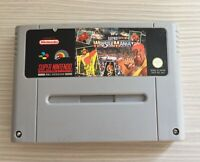 WWF SUPER WRESTLEMANIA - Super Nintendo SNES Game - PAL Version