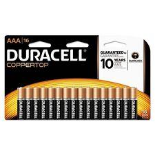 Duracell CopperTop Alkaline Batteries with Duralock Power Preserve - Mn2400B16Z