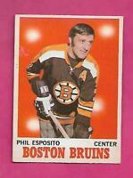 1970-71 OPC # 11 BRUINS PHIL ESPOSITO EX-MT CARD (INV# D6950)