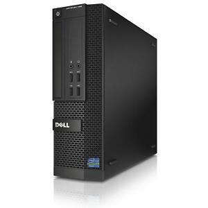 Dell OptiPlex XE2 SFF PC Intel Core i5-4570S 8GB RAM 256GB SSD Windows 10 Pro