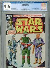 1980 MARVEL STAR WARS #42 ESB 1ST APPEARANCE BOBA FETT CGC 9.6 WHITE