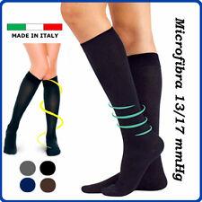 Calze a COMPRESSIONE GRADUATA da uomo donna calze elastiche lunghe compressive