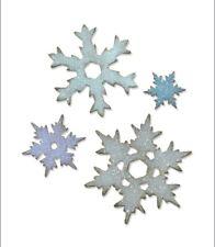 Sizzix Bigz L Die-Stacked Snowflakes Tim Holtz 660052