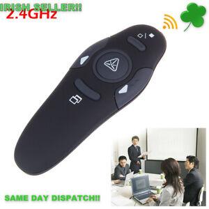 Powerpoint Clicker Presentation Remote Control Wireless USB Presenter C/wBattery