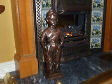 Antico Vintage Nestor BOY Camino Companion Set Fire lato Inghilterra RAME