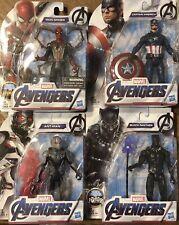 "New Hasbro Marvel Avengers 6"" Figure Lot *MOC* Captain America Iron Spider Man +"