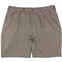 Polo Ralph Lauren Chino Shorts Classic Fit Pleated Shorts Size 40""