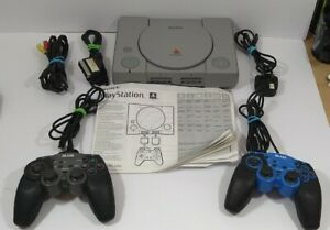 Sony Playstation 1 Console Bundle PAL SCPH-5502 faulty with instructions
