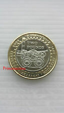 2004*UNC*FIRST RAILWAY LOCOMOTIVE  £2 TWO POUND COIN