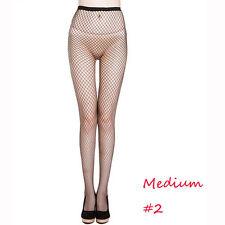 Women's M Net Fishnet Bodystockings Pattern Pantyhose Tights Stockings