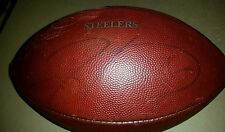 HINES WARD PITTSBURGH STEELERS SIGNED GAME ISSUED FOOTBALL