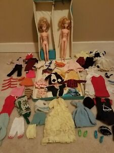 Large Lot Vintage Tressy Dolls And Accessories