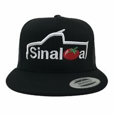 Sinaloa Truck Logo Hat Black, White, And Red Brand New Ships Now !!!