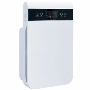 6 IN 1 Luftreiniger HEPA-Filter Pollenfilte Ionisator Luftreinigung Multi-Filter